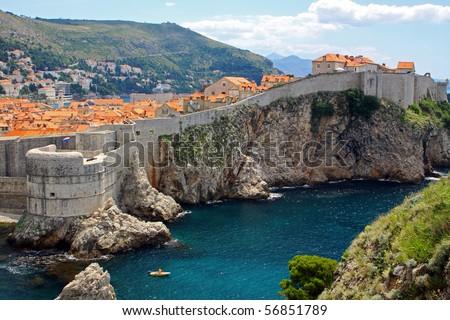 Dubrovnik old town, Croatia - stock photo