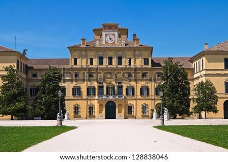 Ducal garden's palace. Parma. Emilia-Romagna. Italy. - stock photo