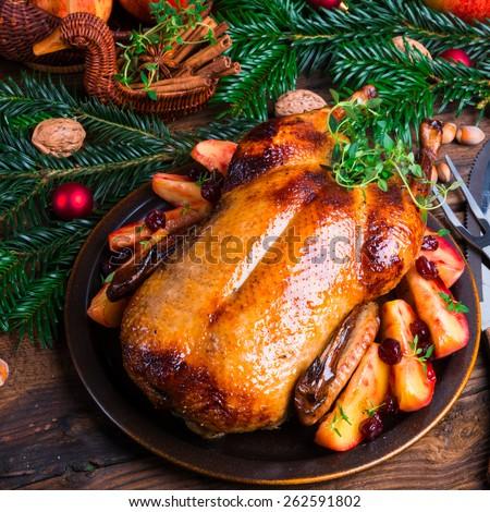 duck breast - stock photo