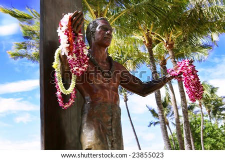 Duke Kuhanamoku - founder of surfing in Hawaii