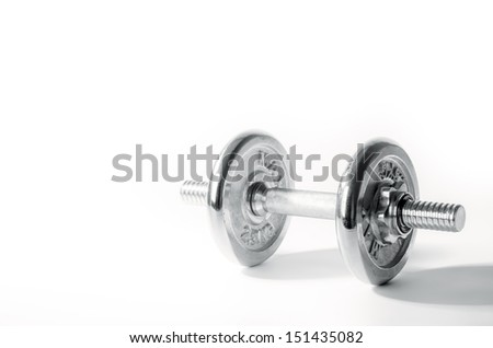 Dumbbell - stock photo