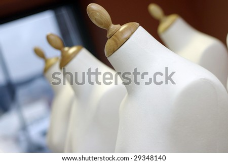 Dummy for tailor. Tailor - stock photo