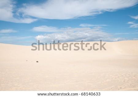 Dunas del desierto - stock photo