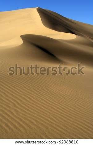 Dune and sand - stock photo