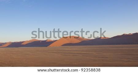 Dune in Namibia - stock photo