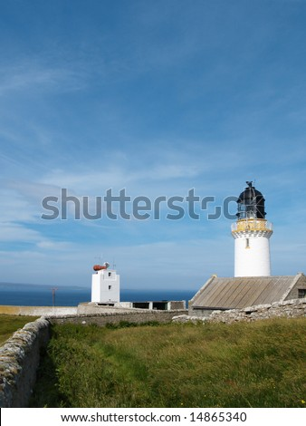 Dunnet Head lighthouse, Scotland - the most northerly point on the UK mainland