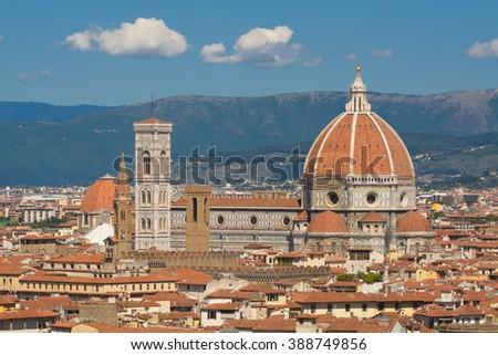 Duomo: Santa Maria del Fiore - Florence. Italy - stock photo