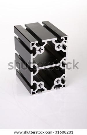 duralumin assembly - stock photo