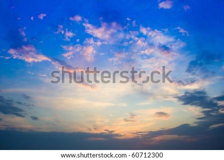 Dusk of Dawn - stock photo
