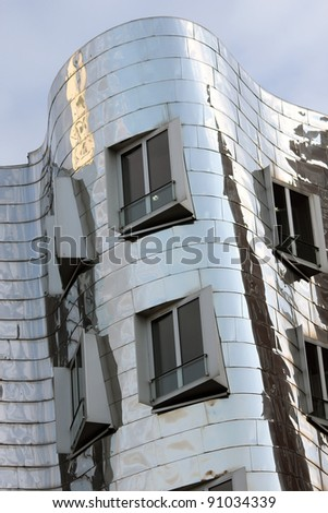 Postmodern Architecture Gehry post modern architecture stock photos, royalty-free images