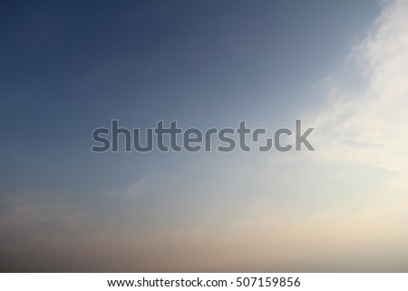 dust sky background