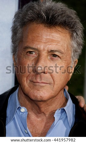 Dustin Hoffman at the World premiere of 'The Tale of Despereaux' held at the ArcLight Theater in Hollywood, USA on December 7, 2008. - stock photo