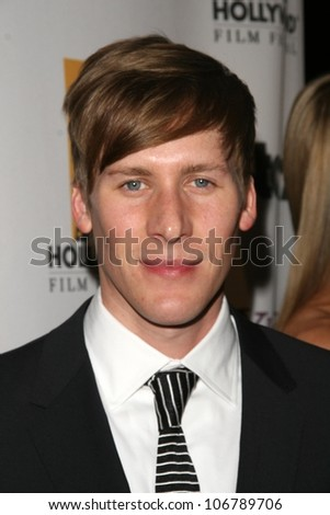 Dustin Lance Black  at the 12th Annual Hollywood Film Festival's Hollywood Awards Gala. Beverly Hilton Hotel, Beverly Hills, CA. 10-28-08 - stock photo