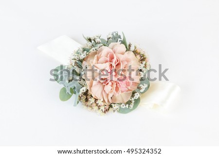 wrist corsage stock images, royaltyfree images  vectors, Beautiful flower