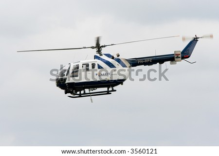 Dutch Police chopper (Dutch Airforce open days, Leeuwarden 2006)