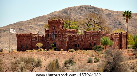 duwisib castle - stock photo