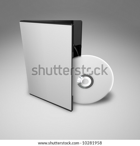DVD Case from high angle