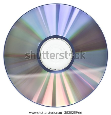 dvd - cd rom - stock photo