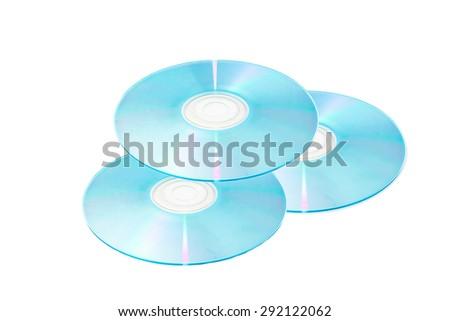 DVD,CD rom disk - stock photo