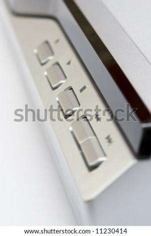 dvd front panel - stock photo