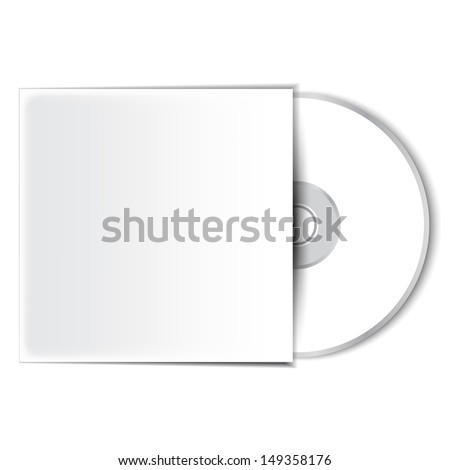 Dvd or cd video disc  - stock photo