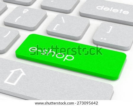 e-shop keyboard