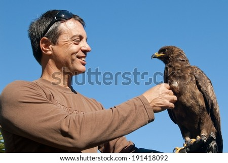 eagle encounters - Spier - South Africa