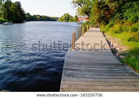 Eagle River - stock photo