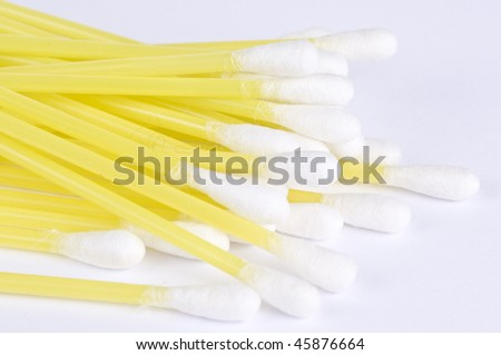 Ear sticks - stock photo