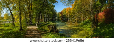 Early autumn - stock photo