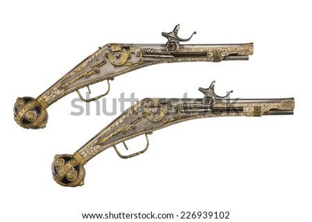 Dual Guns Stock Images Royalty Free Images Amp Vectors