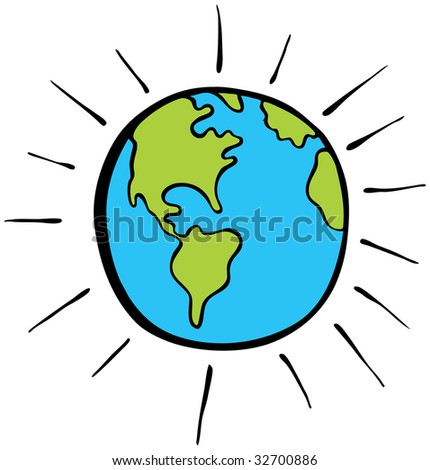 World Cartoon Drawing Earth Cartoon