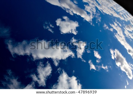 Earth from the Space - stock photo