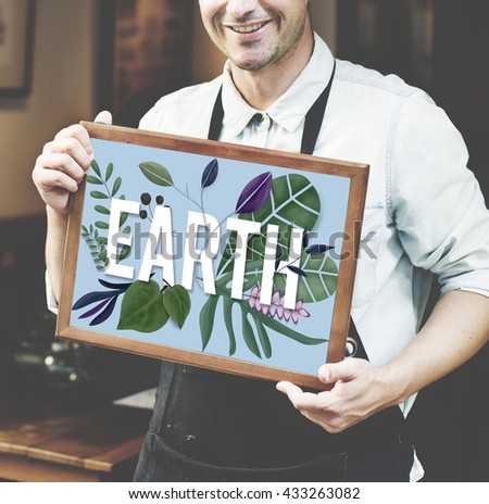 Earth Plant Ecology Environment Natural Resources Concept - stock photo
