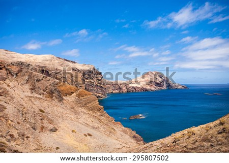 "East coast of Madeira island - ""Ponta de Sao Lourenco"", Portugal"