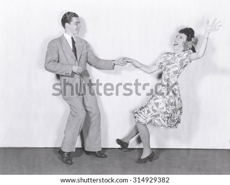 East Coast Swing - stock photo