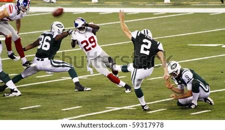 NFL Jersey's Men's New York Jets Nick Folk Pro Line Big & Tall Team Color Jersey
