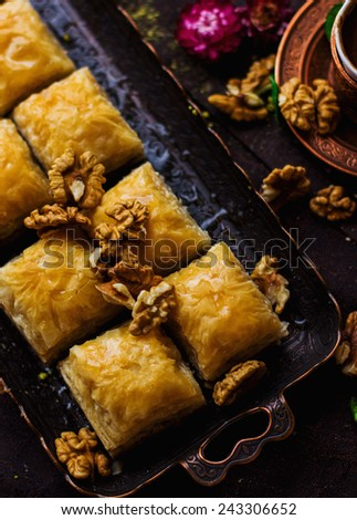 east sweets - stock photo