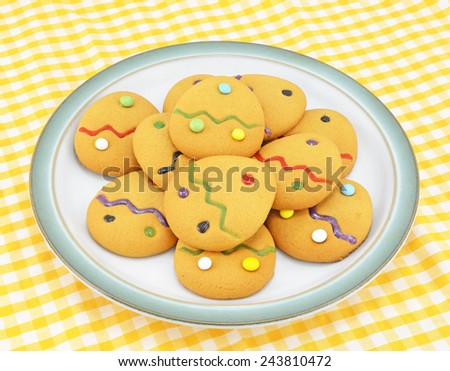 Easter Cookies - stock photo