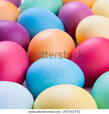 Easter egg background. Concepts picture - stock photo