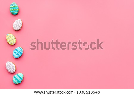 Easter Eggs Cookies Easter Symbols Traditions Stock Photo Download