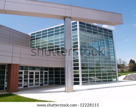 Easton Middle School, Pennsylvania - stock photo