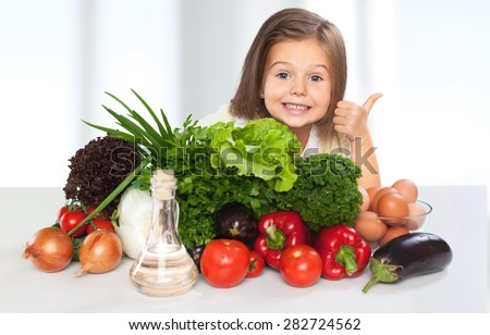 Eat, food, kid. - stock photo
