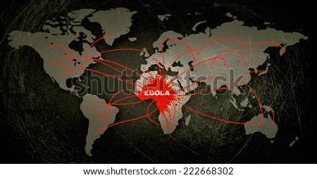 Ebola - stock photo