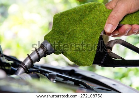 eco energy concept  - stock photo