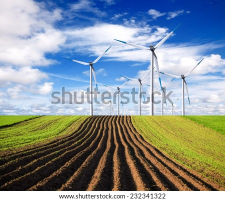 Ecological direction - stock photo