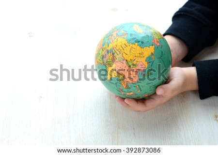 Ecology and peace concepts - stock photo