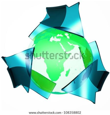 Ecology Concept - stock photo