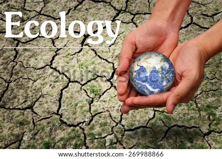 Ecology protection concept - stock photo