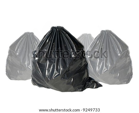 ecology series -garbage - stock photo